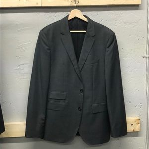 Hugo Boss The Sweet/Sharp gray striped suit 40R